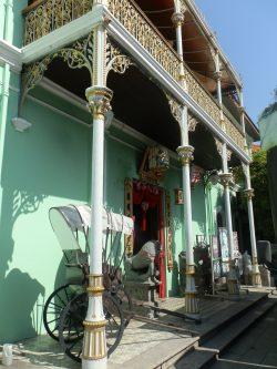 Oud pakhuis in Penang