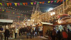 Moskou kerstmarkt