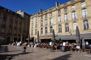 Bordeaux place du parlement