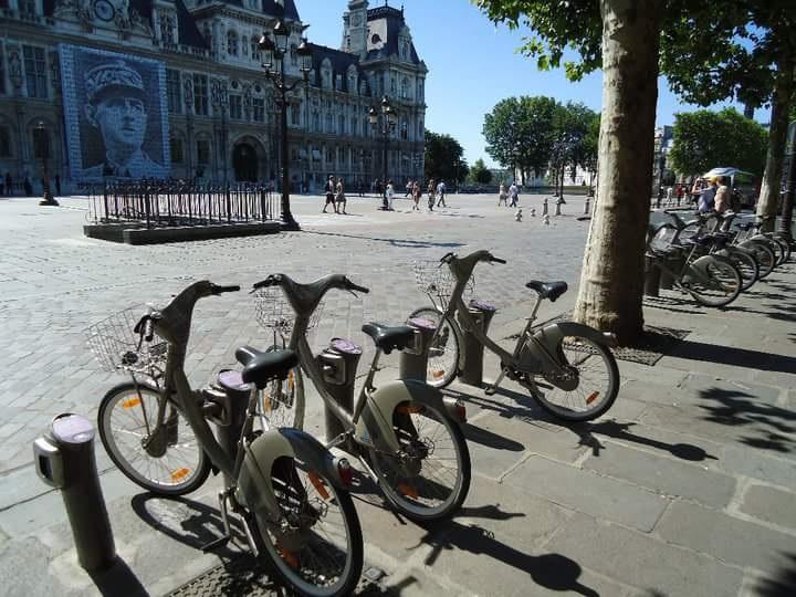 Fietsen Parijs