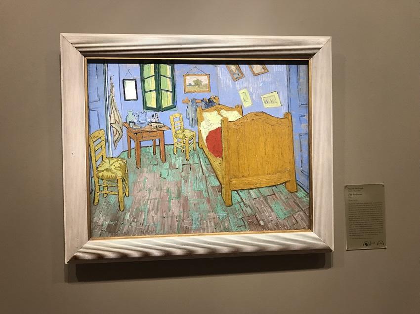 Bedroom_Van Gogh_Art Institute Chicago