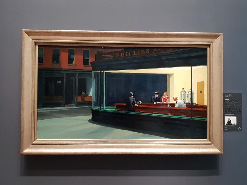 Hopper_Chicago Art Institute
