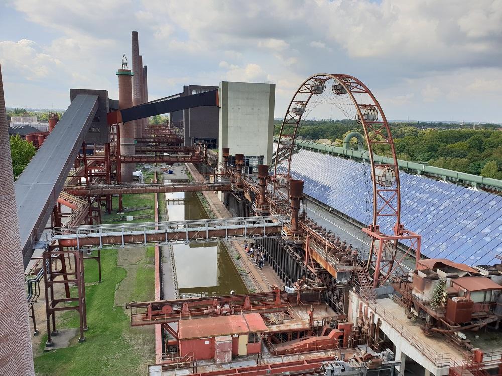 Uitzicht vanaf de cokesfabriek_Ruhrgebied
