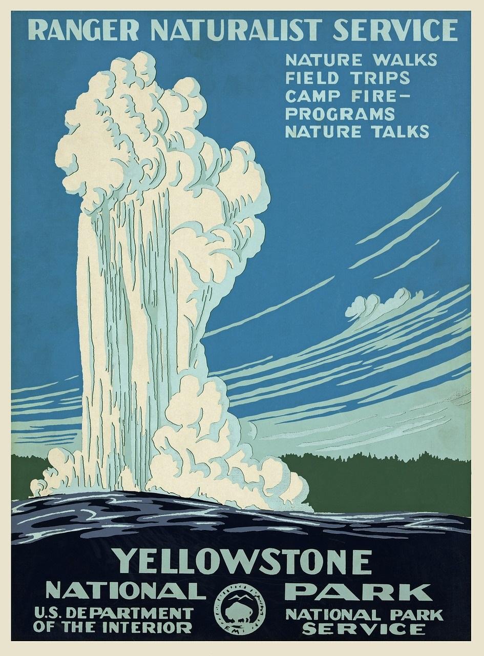 Ranger service Yellowstone