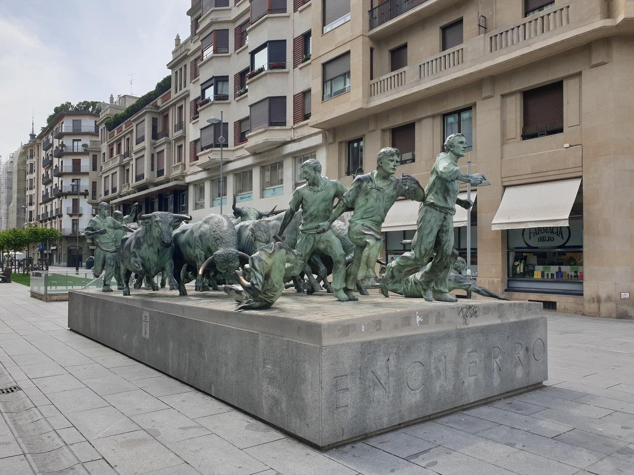Stierenrennen_Pamplona_Navarra
