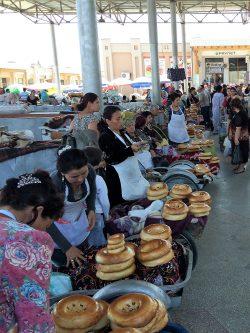 Broden Markt Oezbekistan