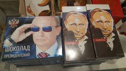 Moskou Poetin chocolade