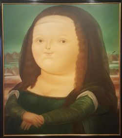 Mona Lisa Botero