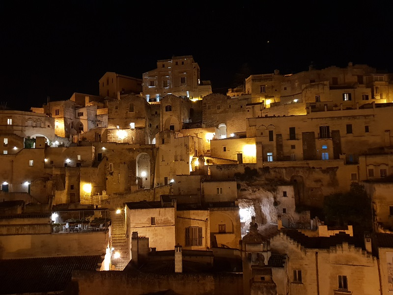 Matera_by night