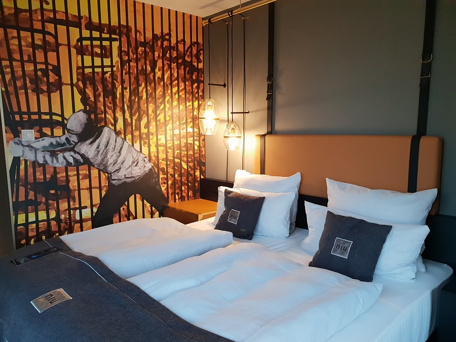 Hotelkamer niu Cobbles_Essen_Ruhrgebied