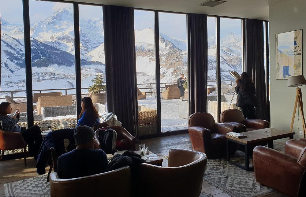 Lobby_Rooms hotel_Kazbegi