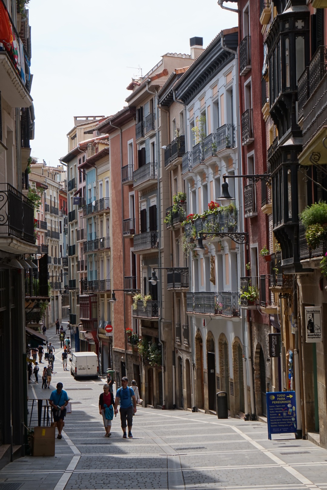 Straat_Pamplona_Navarra