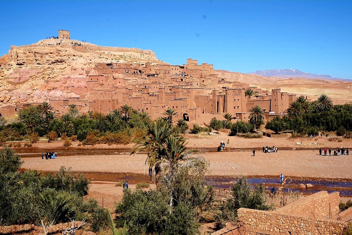 Uitzicht_Aït-Ben-Haddou_Marokko_Zuiden