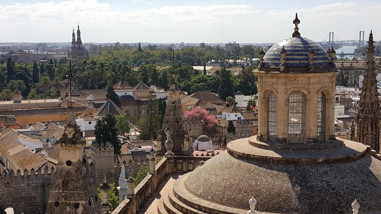 Spanje_stedentrip_Sevilla uitzicht