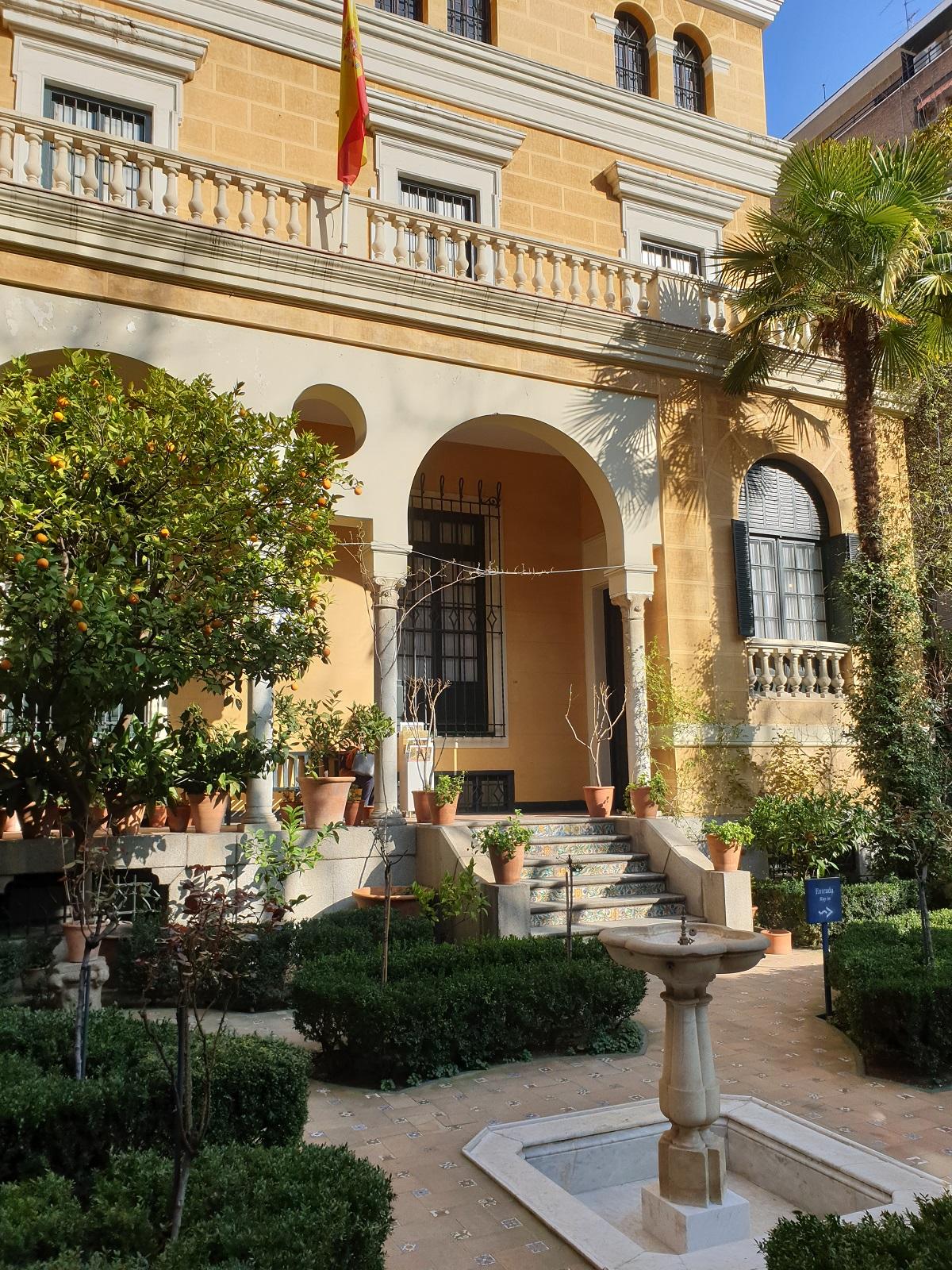 Tuin_Sorolla museum_Madrid