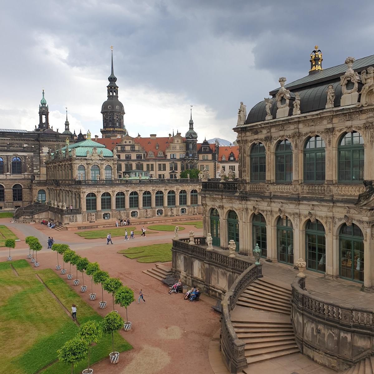 Tuinen en gebouwen_Zwinger_Dresden_Sächsische_Schweiz